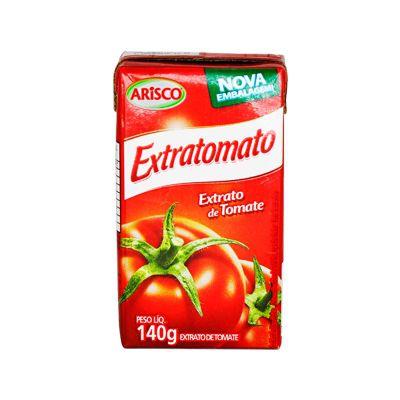 EXTRATO DE TOMATE 140G ARISCO EXTRATOMATO TP