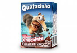 ACHOCOLATADO LIQ QUATAZINHO 200ML CHOCOLATE