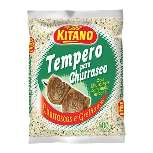 TEMPERO PARA CHURRASCO KITANO 500G