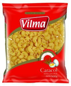 MASSA VILMA 500G CARACOL COM OVOS