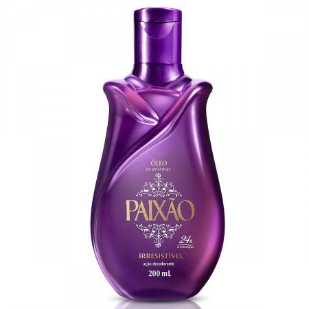 Oleo Amendoas Paixao 200Ml Irresistivel