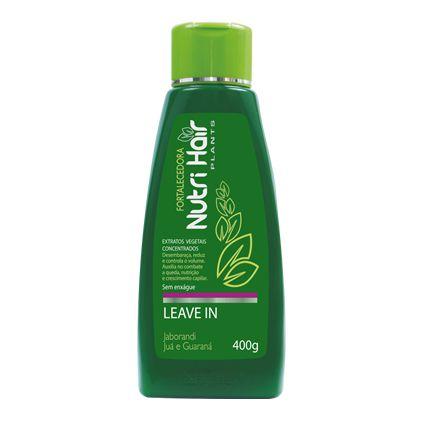 Leave-In Nutri Hair 400Ml Plants