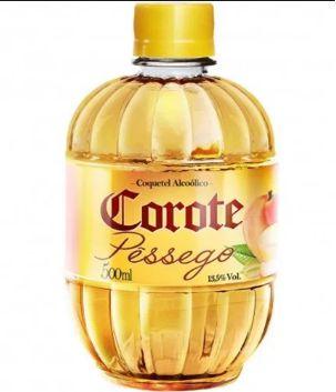 COQUETEL COROTE 500ML PESSEGO