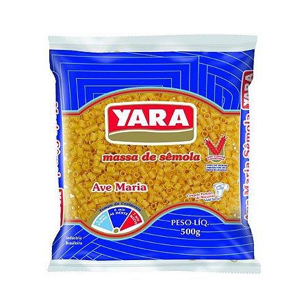 MASSA YARA 500G AVE MARIA SEMOLA