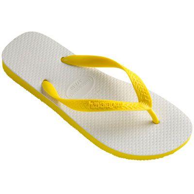 Sandália Havaiana Tradicional 39/40 Amarelo Citrico