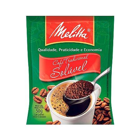 CAFE MELITTA 50G SOLUVEL TRADICIONAL