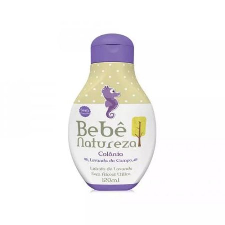 COLONIA BEBE NATUREZA 120ML LAVANDA DO CAMPO