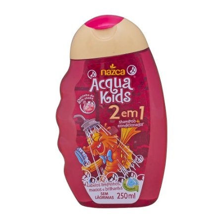 Shampoo Acqua Kids 2Em1 250Ml Milk Shampooake
