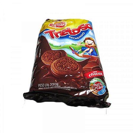 BISC VITAR 390G RECH TRELOSO CHOCOLATE
