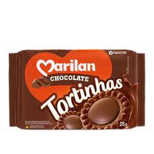 BISCOITO MARILAN 375G TORTINHAS CHOCOLATE