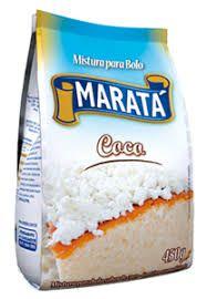 MISTURA DE BOLO MARATA 450G COCO