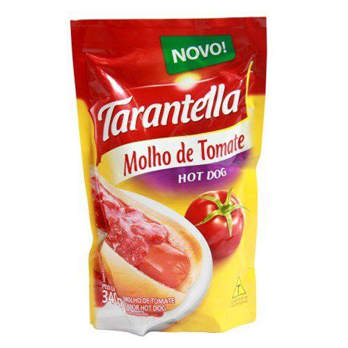 Molho Tomate 340G Tarantella Hot Dog Sache