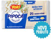 PIPOCA P/MICROO YOKI 90G MANTEIGA