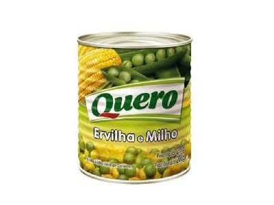 ERVILHA E MILHO VERDE QUERO 200G LATA