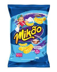 Salgadinho Mikao 30G Requeijao