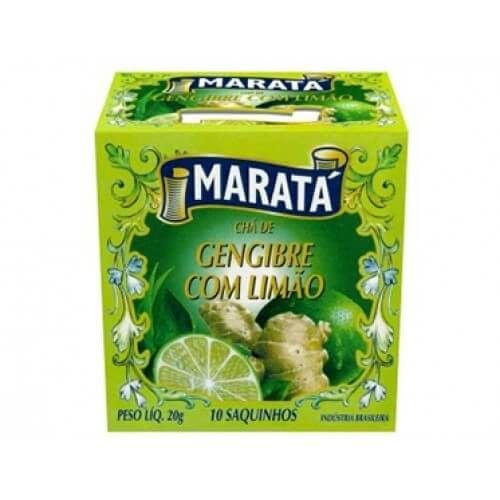 CHA MARATA 20G GENGIBRE/LIMAO