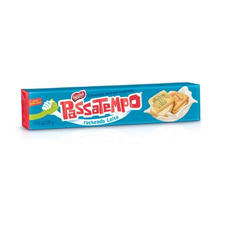 Biscoito Nestle Passatempo recheado Leite 130g