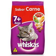 whiskas para gatos carne