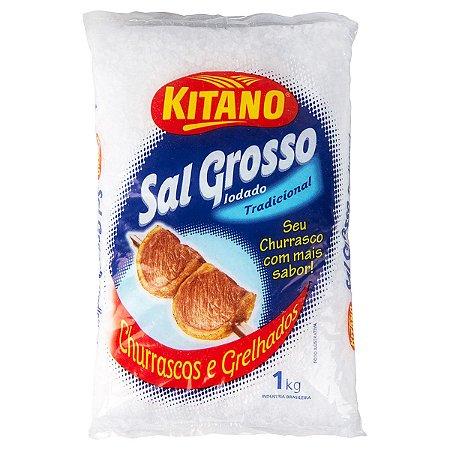 SAL GROSSO KITANO P/CHURRASCO 1KG