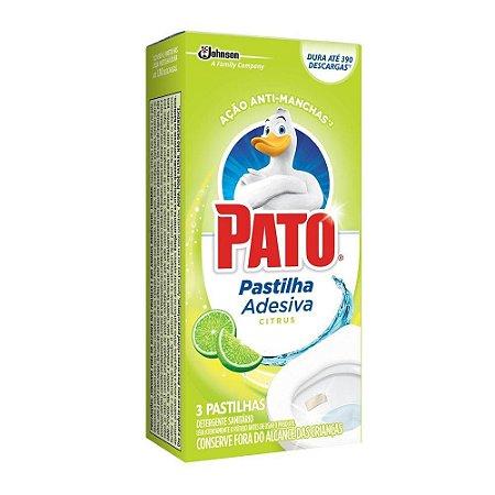 PEDRA SANITARIA PATO ADESIVA  CITRUS C/3
