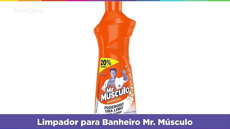 LIMPADOR MR MUSCULO 500ML BANH 20%DESC