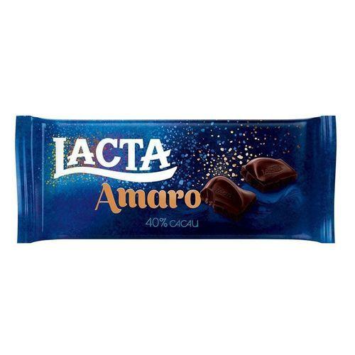 CHOCOLATE LACTA LAKA 90G AMARO