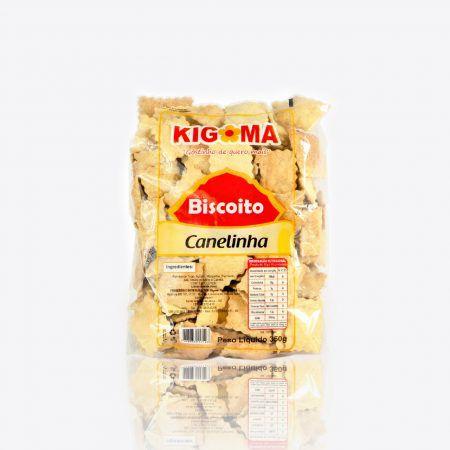 BISCOITO KIGOMA 350G CANELINHA