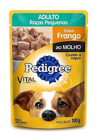 PEDIGREE 100G AD RACAS PEQ FRANGO AO MOLHO