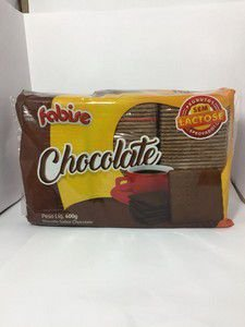 BISC FABISE 400G CHOCOLATE ZERO LACTOSE