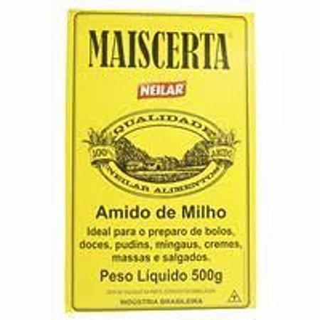 AMIDO MILHO 500G MAISCERTA