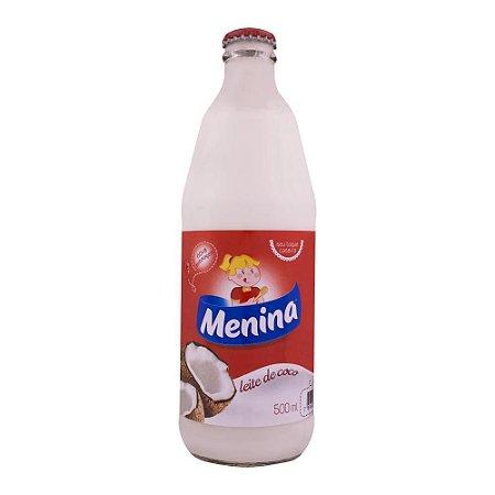 LEITE DE COCO 500ML MENINA VIDRO