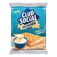BISCOITO CLUB SOCIAL 106G RECHEADO REQUEIJAO