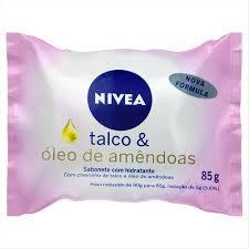 SABONETE NIVEA 85G TALCO E AMENDOAS