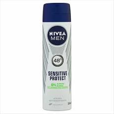 DESODORANTE NIVEA 150ML  MEN SENSITIVE PROTECT