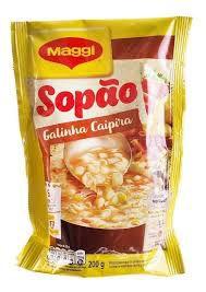 SOPAO MAGGI 200G GALINHA CAIPIRA