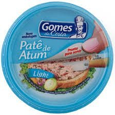 PATE DE ATUM GOMES COSTA 150G LIGHT