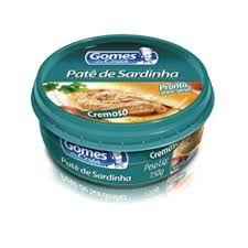PATE DE SARDINHA GOMES COSTA 150G