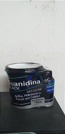 GUANIDINA U.HAIR BLACK REG 200G