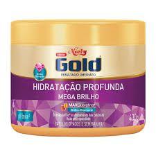 CREME DE TRATAMENTO NIELY GOLD 430G MEGA BRILHO