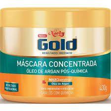 CREME DE TRATAMENTO NIELY GOLD 430G OLEO DE ARGAN