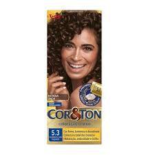 Tinta Cor & Ton 125G 5.3 Castanho Claro Dourado