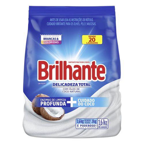 SABAO PO BRILHANTE 1,6KG DELICADEZA TOTAL