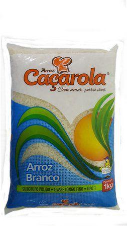 ARROZ CACAROLA BRANCO 1KG