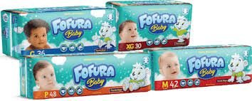 FRALDA FOFURA PRATICA P C/28UNDS
