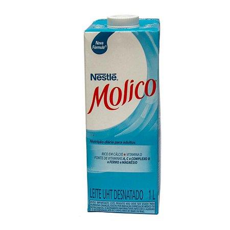 LEITE LIQUIDO MOLICO 1L DESNATADO