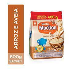 MUCILON 600G ARROZ E AVEIA