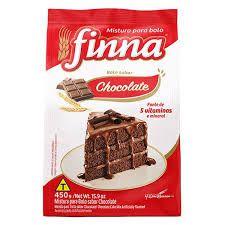 MISTURA DE BOLO FINNA 450G CHOCOLATE