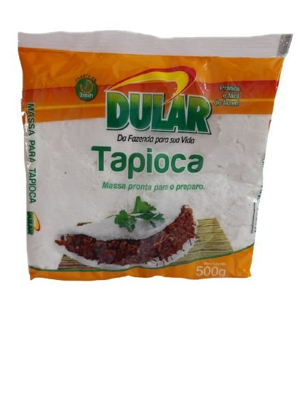 TAPIOCA PRONTA DULAR 500G