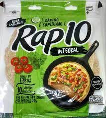 PAO TIPO TORTILHA RAP10 330G INTEGRAL