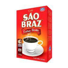 CAFE SAO BRAZ 250G EXTRA FORTE A VACUO